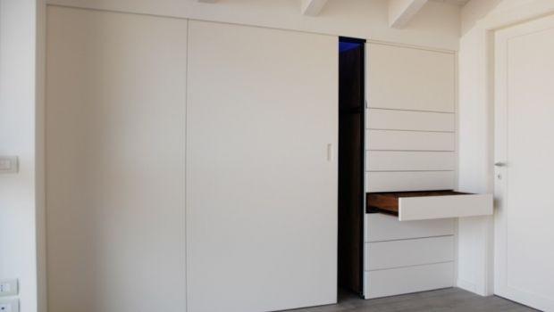 Soluzioni innovative per realizzare un armadio a muro in mansarda