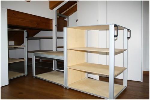 Un armadio per mansarde altamente innovativo