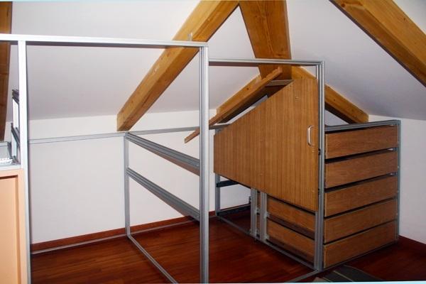Costruire un armadio a muro in mansarda MarcaClac