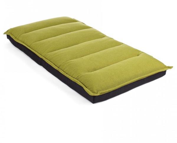 Cuscino lungo Emilie verde di Bizzotto
