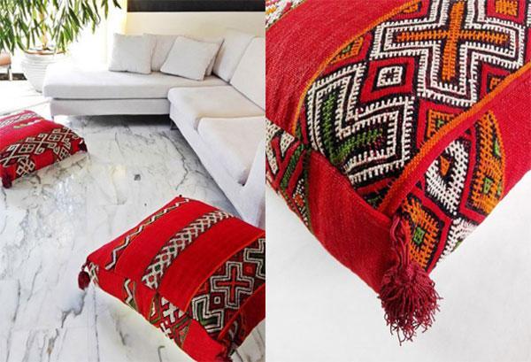 Cuscini quadrati per divani e non solo, by ETNO CHIC