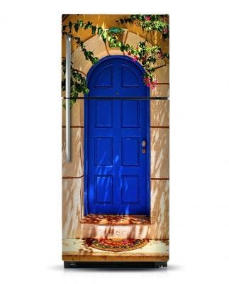 Frigo personalizzato Blue Door KuduMagnets