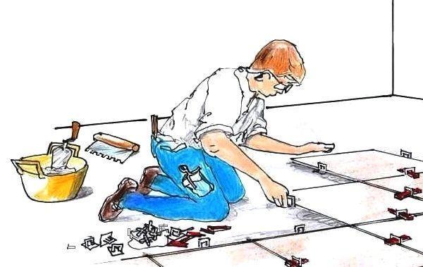 Sistemi e attrezzi per posa piastrelle a pavimento - Posa piastrelle fai da te ...