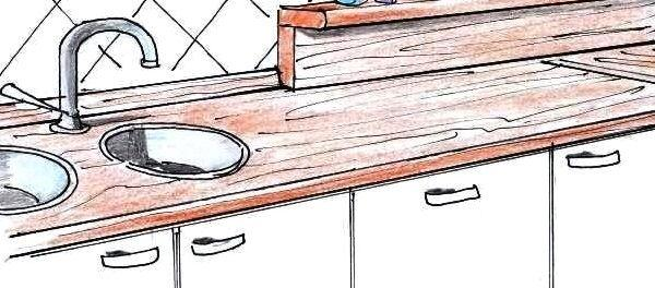 Piano lavoro cucina: installazione fai da te