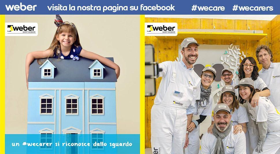 Weber pagina Facebook