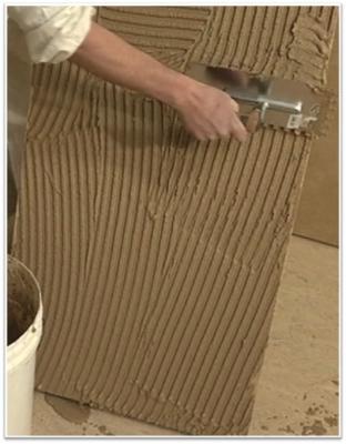 Rivestimento cappotto termico interno con argilla