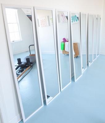 Specchi per la stanza dedicata al fitness, da inmyownstyle.com