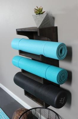 Porta tappetini da parete fai da te, da grayhousestudio.com