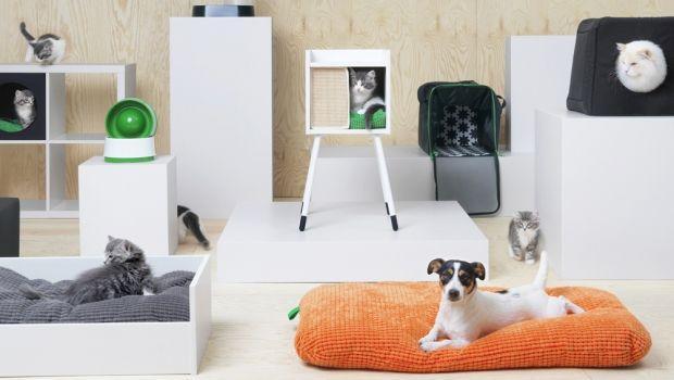 Collezione Ikea per animali domestici: arredi e accessori