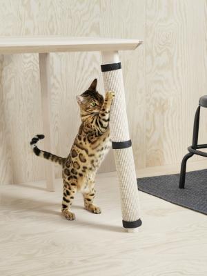Tiragraffi per gatti, accessorio collezione Lurvig di Ikea
