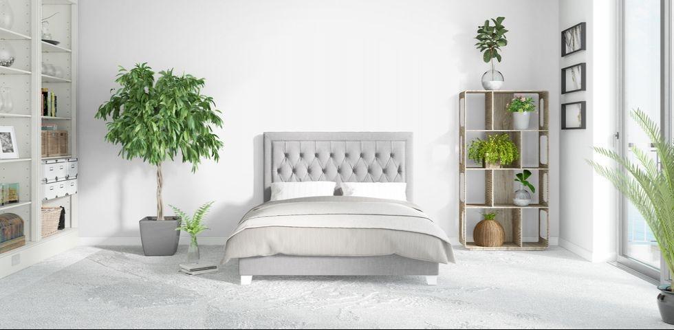 Le piante in camera da letto sono molto scenografiche