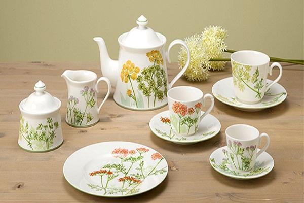 La linea Althea Nova di Villeroy & Boch renderà elegante il vostro tea time