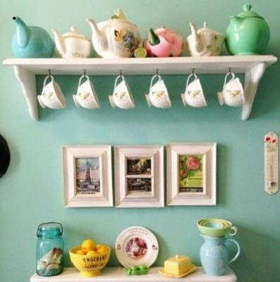 Colori pastello per un tea corner primaverile