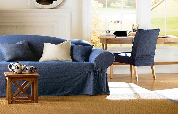 Il denim regala un'anima casual ed elegante a tutti gli ambienti della casa