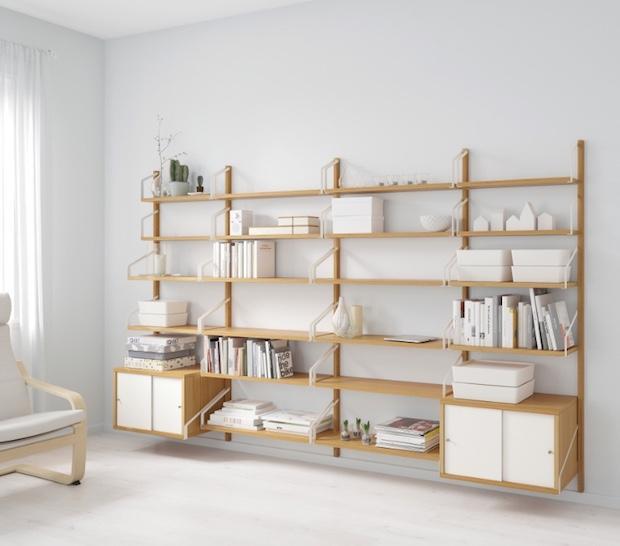 Libreria componibile svedese, da ikea