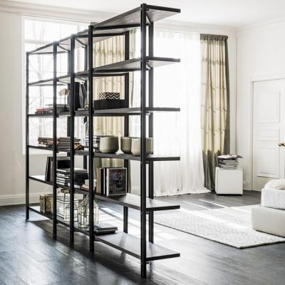 Librerie modulari bifacciali in acciaio, da Cattelan Italia