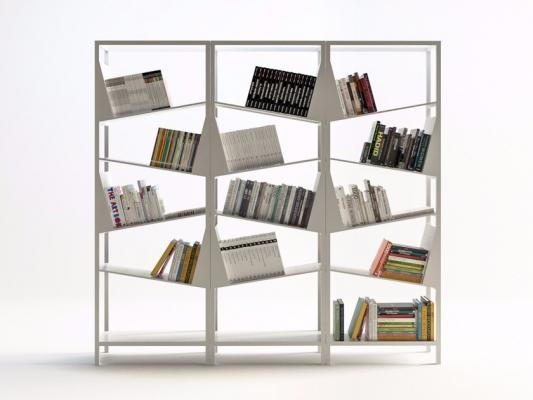 Libreria componibile dinamica, da Filodesign