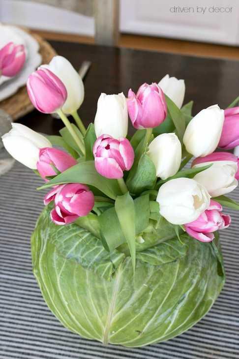 Vaso di fiori fai da te, da drivenbydecor.com