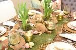 Centrotavola erboso per Pasqua, da homewithholliday.com