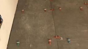 Distanziatori autolivellanti per pavimenti: applicazione