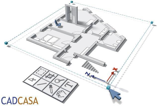 Progetto interattivo di ristrutturazione con CADCASA5