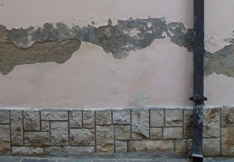Umidità nei muri interni soluzioni