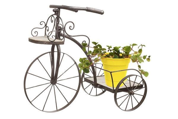 Mobiletto porta piante Bicicletta Amazon