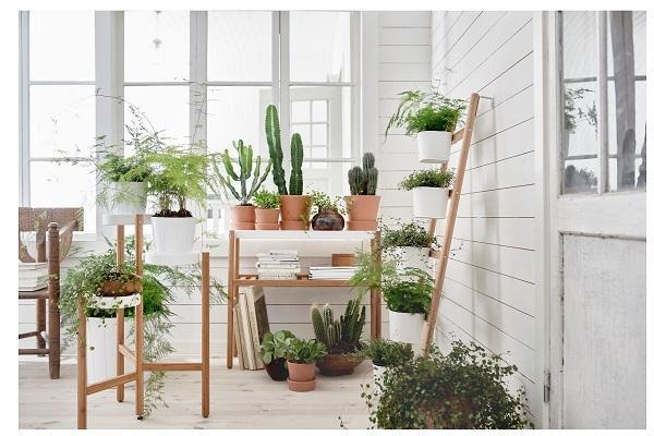 Mobiletto porta piante Satsumas Ikea