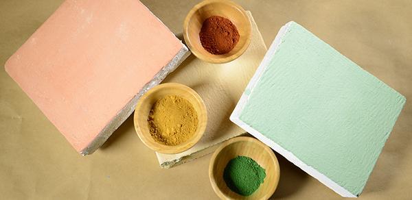 Pigmenti per tinteggiatura a calce e relative prove di colore, La Banca della Calce