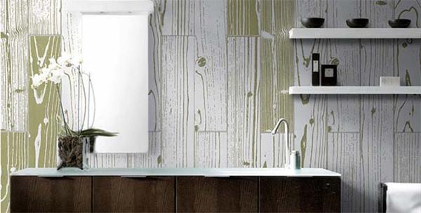 UonUon y 14oraitaliana: gres effetto legno in versione Pop Art