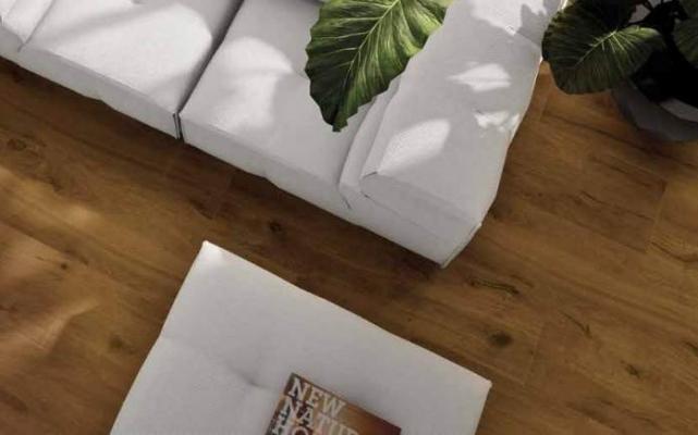 Gres effetto legno Tavolato Marrone Chiaro di Ceramiche Pronte