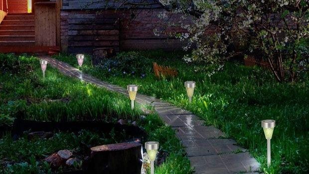 Luci fotovoltaiche da giardino - Luci da giardino ikea ...