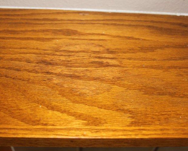 Eliminare macchie dal legno, by sometimes-homemade.com