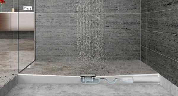 Sifone ribassato per doccia filo pavimento - Valsir
