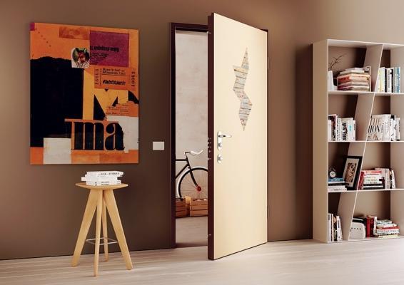 Porta blindata Segreta con nascondiglio interno, di Di. Bi. Group