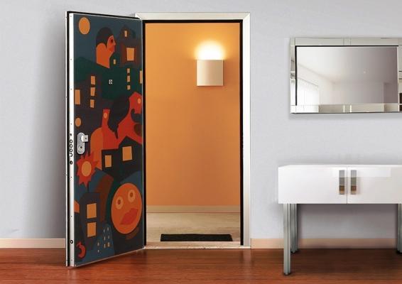 Porta blindata Segreta Plus con nascondigli interni, Di. Bi. Group