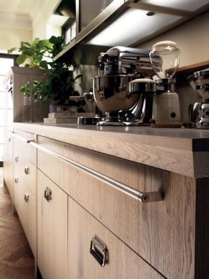 Maniglioni multifunzione di Scavolini Diesel Social Kitchen