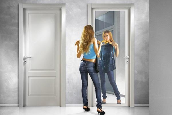 Porta a specchio FerreroLegno