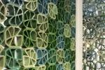 Frangisole grigliati di ceramica policroma di Ceipo