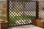 Pannelli grigliati di legno by Solartende