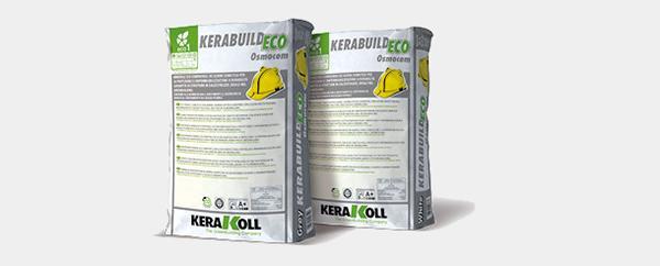 Cemento osmotico Kerabuild Eco Osmocem di Kerakoll