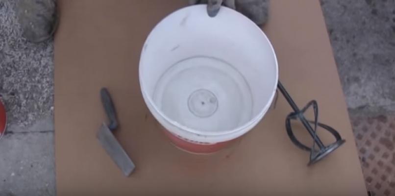 Gli strumenti per la preparazione del cemento osmotico, Nord Resine