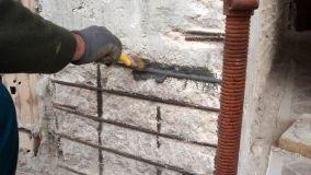 Ripristino strutture di cemento armato ammalorate: solai e pilastri