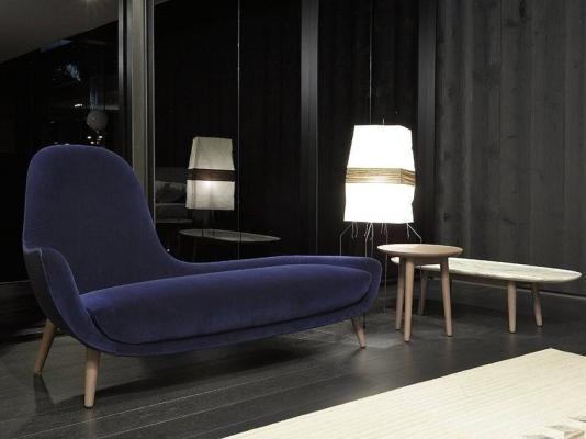 Chaise-longue per un angolo del comfort in casa, da Poliform