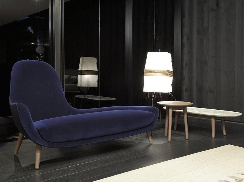 Chaise-longue per un angolo del comfort in casa, da Poliform