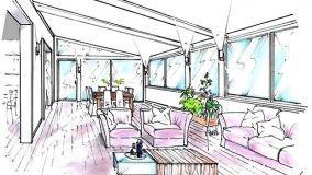 Un'idea per ampliare l'abitazione con una veranda sul terrazzo