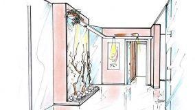 Funzionali idee progettuali per l'arredo di corridoi e disimpegni