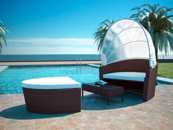 Divani prendisole e lettini da piscina, by Artelia-Design