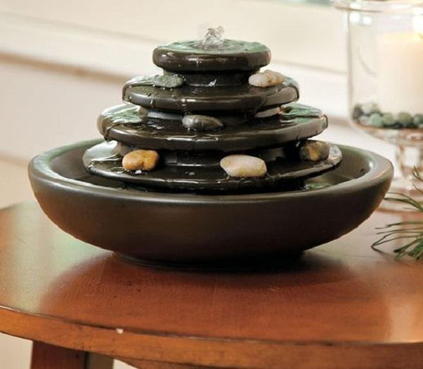 Una fontana zen aiuta a rilassarsi