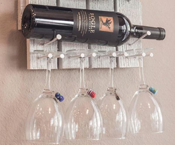 Come creare un angolo di degustazione vini in casa for Portabottiglie vino fai da te